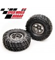 "HOBAO DC-1 WHEELS & TIRES SET (1.9"") , 2 PCS."