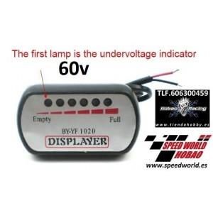 Indicador de carga 60V