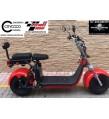 Citycoco matriculable 1500W 20Amp ROJA