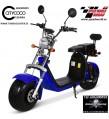 Citycoco matriculable 1500W 20Amp AZUL