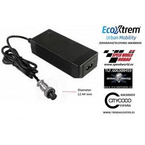 cargador 24v Plomo para patinete electrico conector  GX12-3