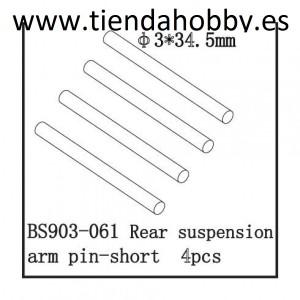 Ejes trapecios 3x34,5mm